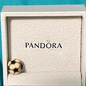 Soccer pandora charm